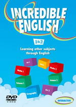 Incredible English 2ed. 1 DVD (Level 1 & 2)
